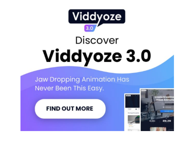 Viddyoze Template Club V3