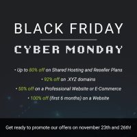 Stablehost Black Friday & Cyber Monday – Up To 80% OFF On Hosting